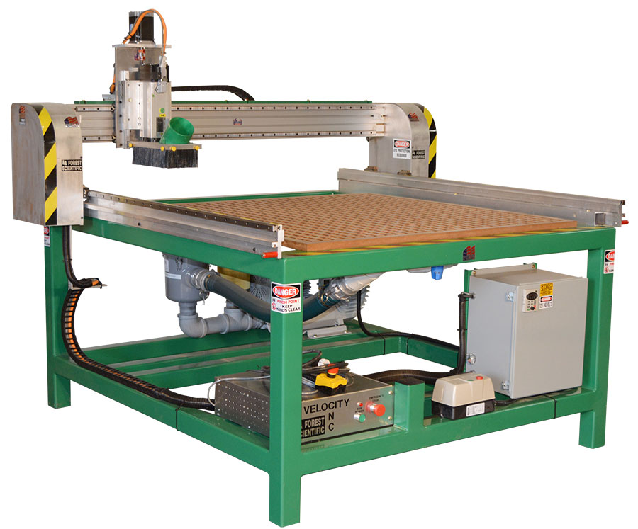 Forest Scientific HS Series CNC Router Models
