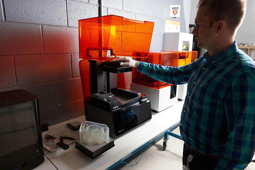 Allegheny Educational Systems Form 3 3D Printer