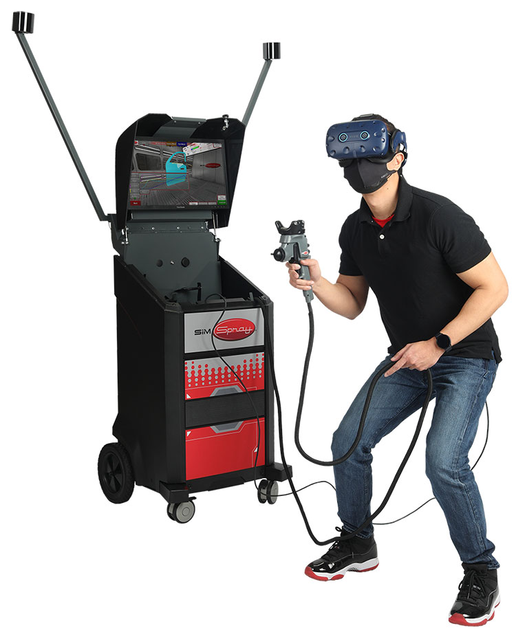 Allegheny Educational Systems SimSpray Virtual Reality Painter Trainer