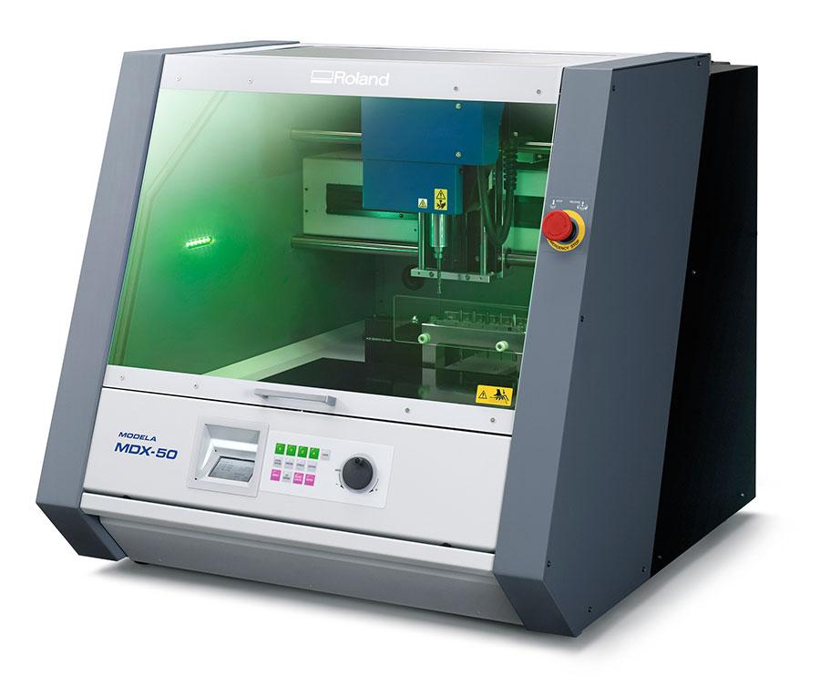Roland Modela MDX-50 Benchtop CNC Mill