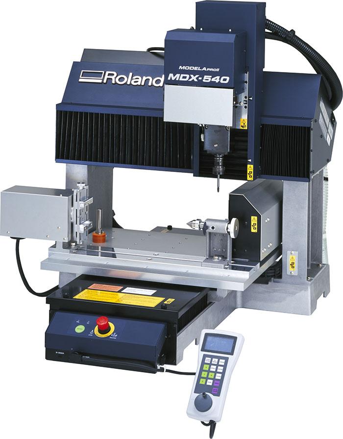 Roland Modela MDX-540 Benchtop Milling System