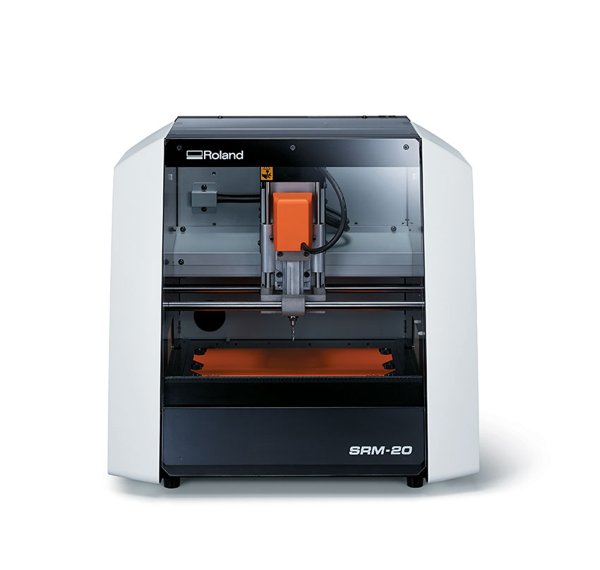 Roland monoFab SRM-20 Desktop Milling Machine at Allegheny Educational Systems