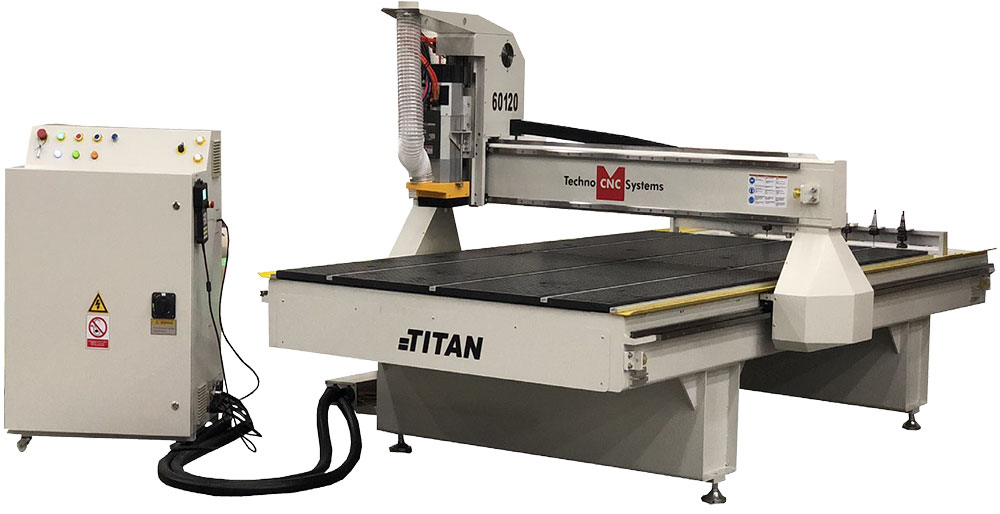 Techno Titan Series CNC Router