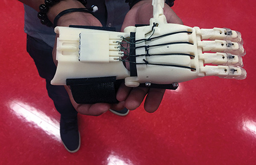 Allegheny Educational Systems 3D Printed Hand