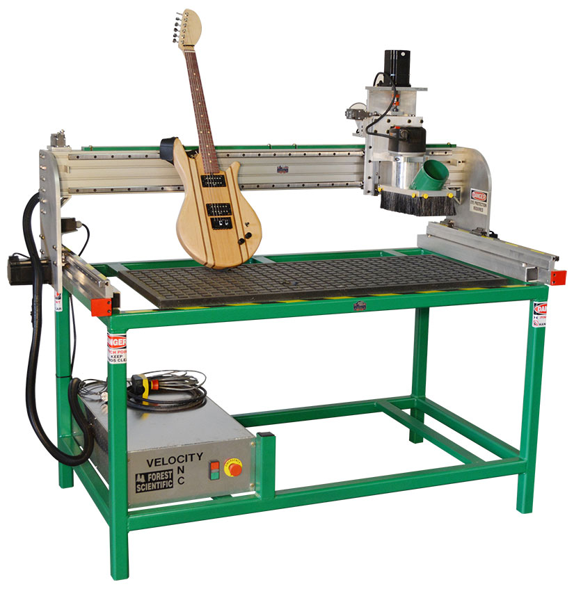 Allegheny Educational Systems Forest Scientific LuthierMax Series Guitar Making CNC Routers