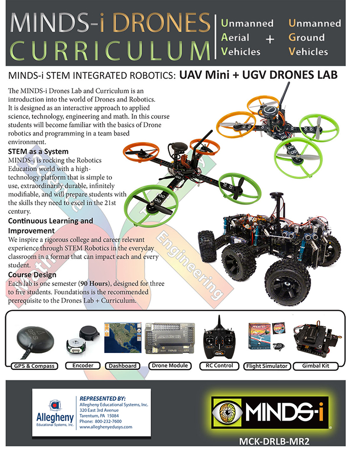 MINDS-i UAV Mini and UGV Drone Lab