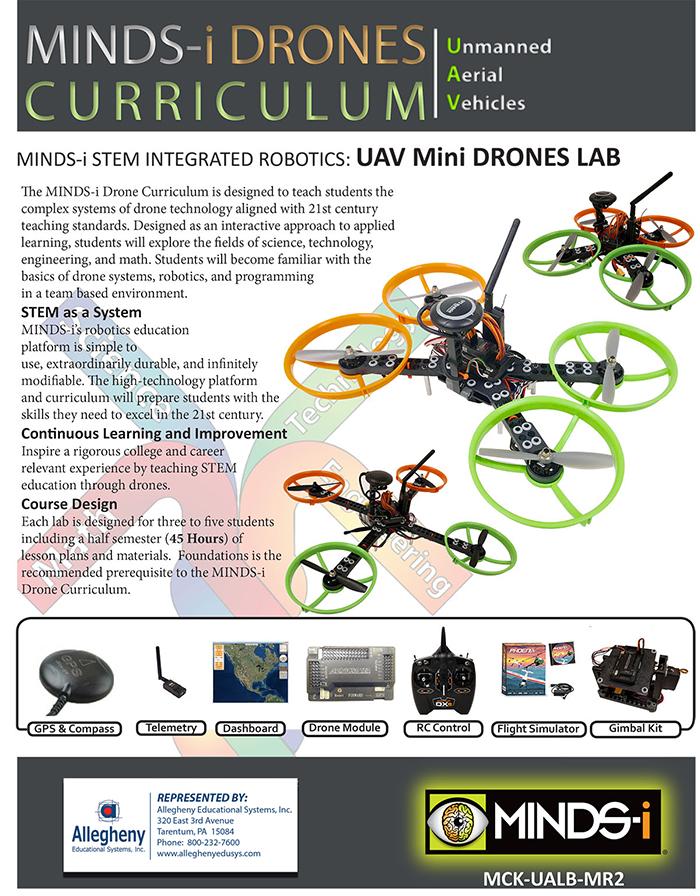 MINDS-i UAV Mini Drone Lab