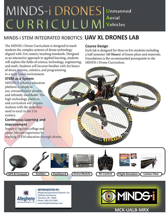 MINDS-i UAV xl drone lab