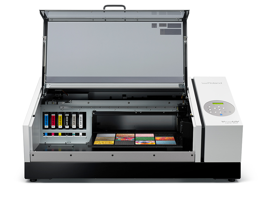 Roland VersaUV LEF Series Flatbed Printers at Allegheny Educational Systems