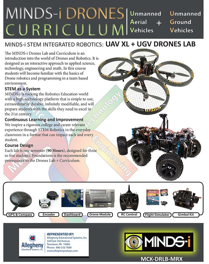 MINDS-i IAV xl and ugv drone lab