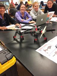Tuscarora I.U. 11 STEM In-service At Juniata College In Huntingdon, PA