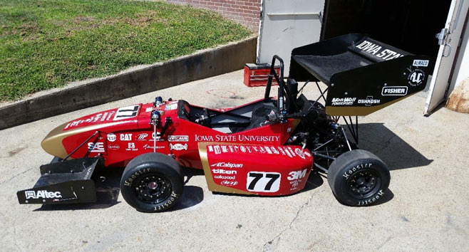 Students Build Lighter, Faster Formula SAE Competition Cars With Stratasys 3D Printing