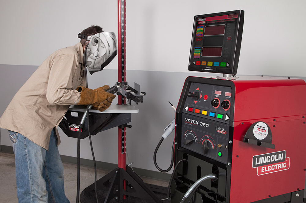 Allegheny Educational Systems Lincoln VRTEX 360 Welding Trainer