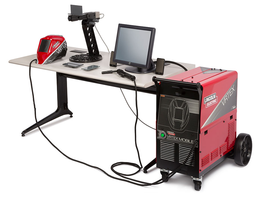 Lincoln VRTEX Mobile Welding Trainer