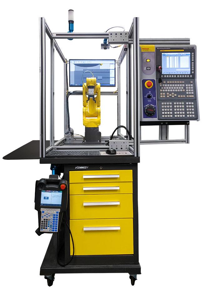 Allegheny Educational Systems APT MTEC - SIM - Machine Tending Education Cell Simulator