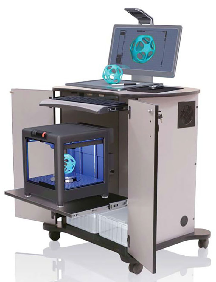 Allegheny Educational Systems CEF Multi Maker Cart XL