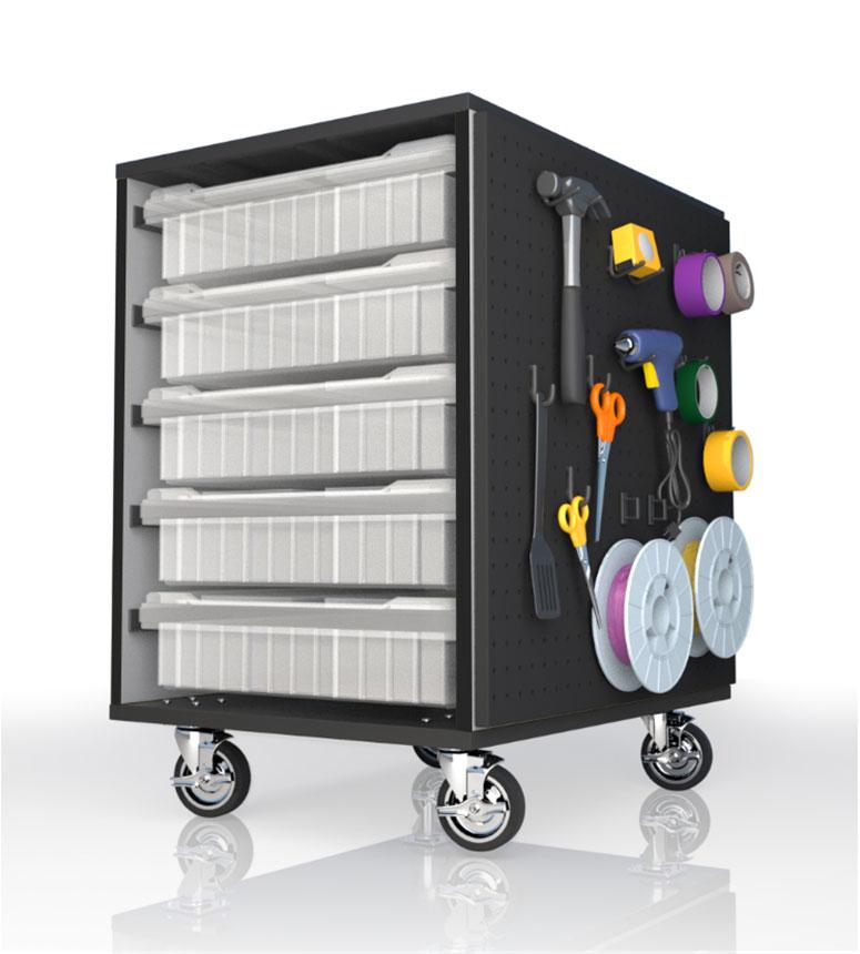 Allegheny Educational Systems CEF Stewart Storage Cart