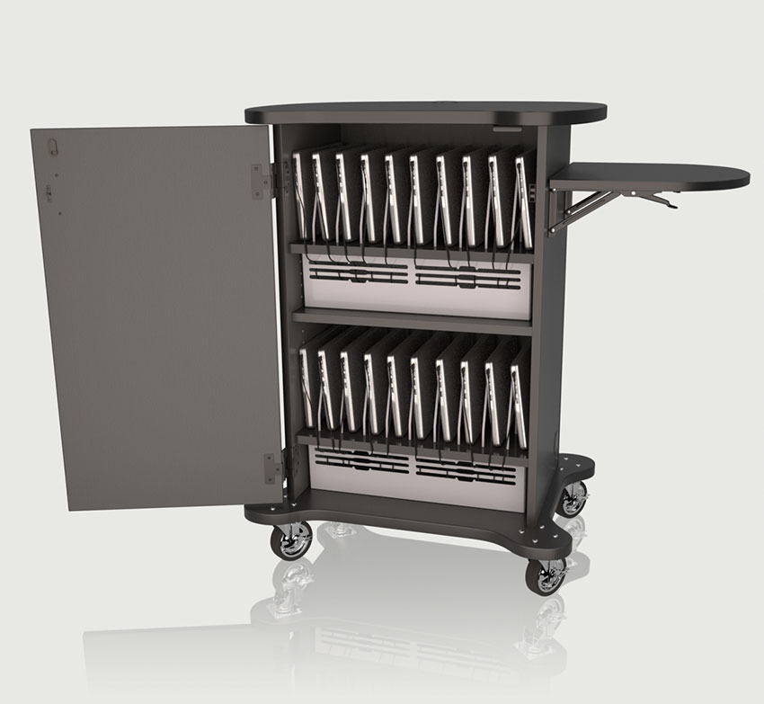 Allegheny Educational Systems CEF + Multi Maker Charging Cart