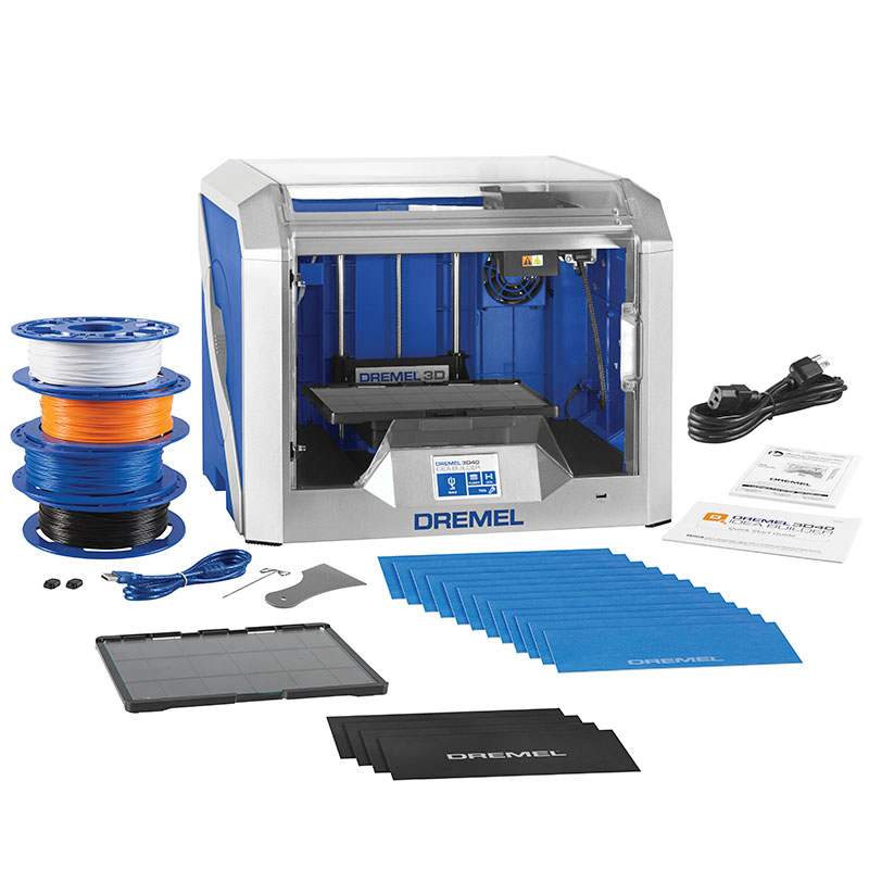 Allegheny Educational Systems Dremel 3D Printers 3D45 and 3D40 FLEX
