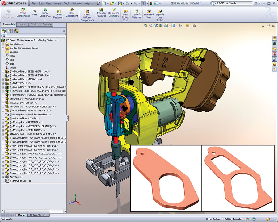 SOLIDWORKS 3D CAD Software