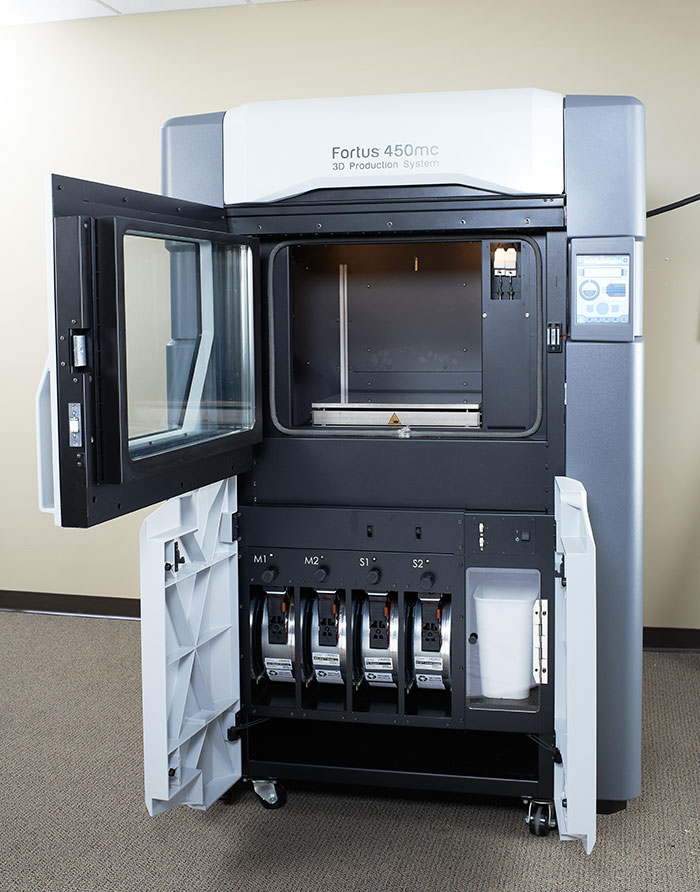 Allegheny Educational Systems Stratasys Fortus 380mc and 450mc