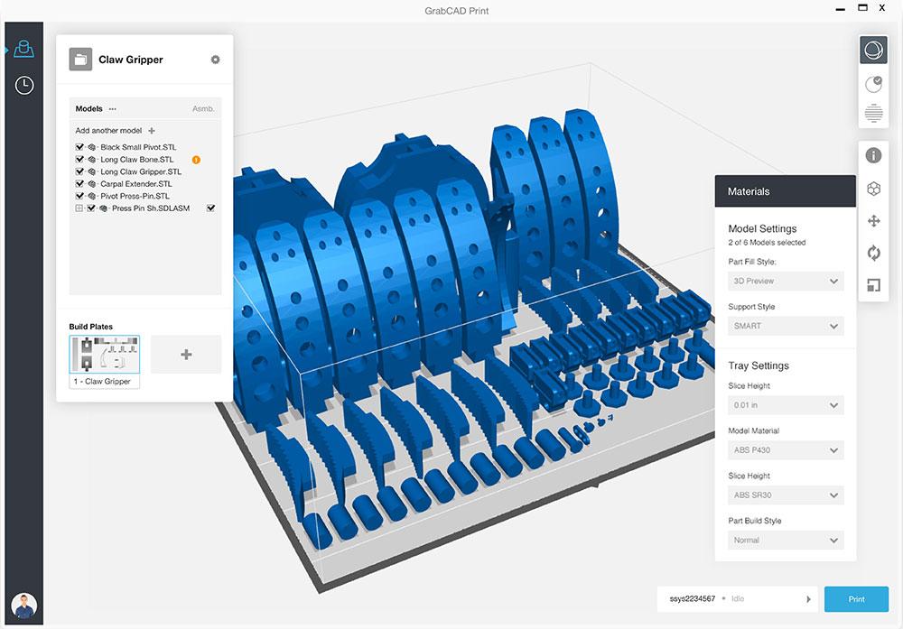 Stratasys GrabCAD Print Software