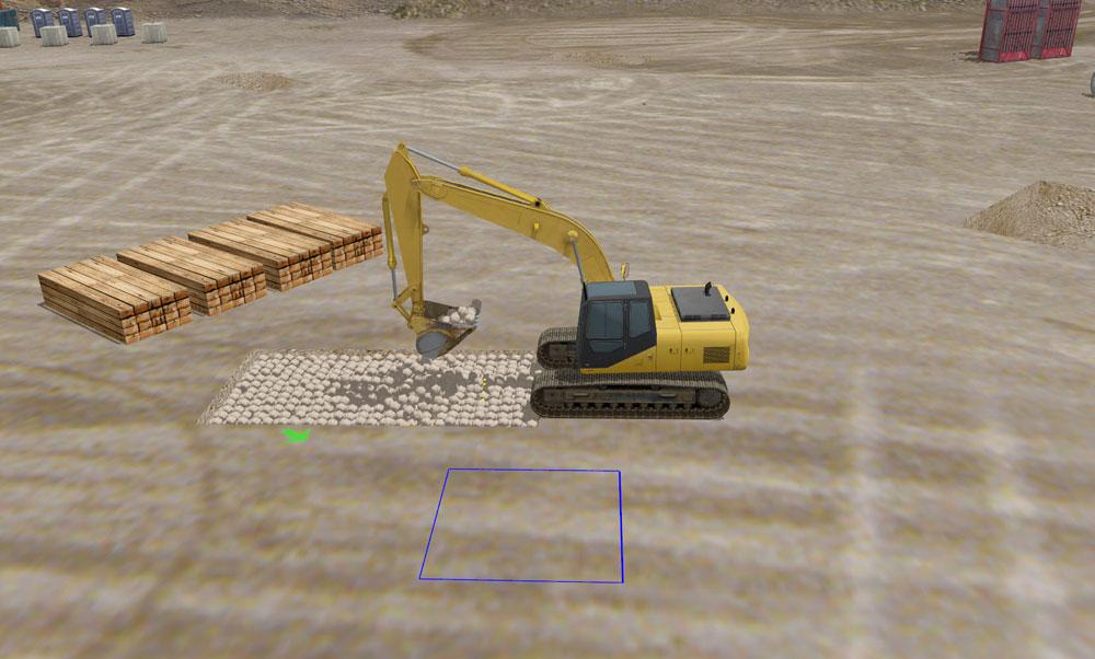 Allegheny Educational Systems Simlog Heavy Equipment Simulation