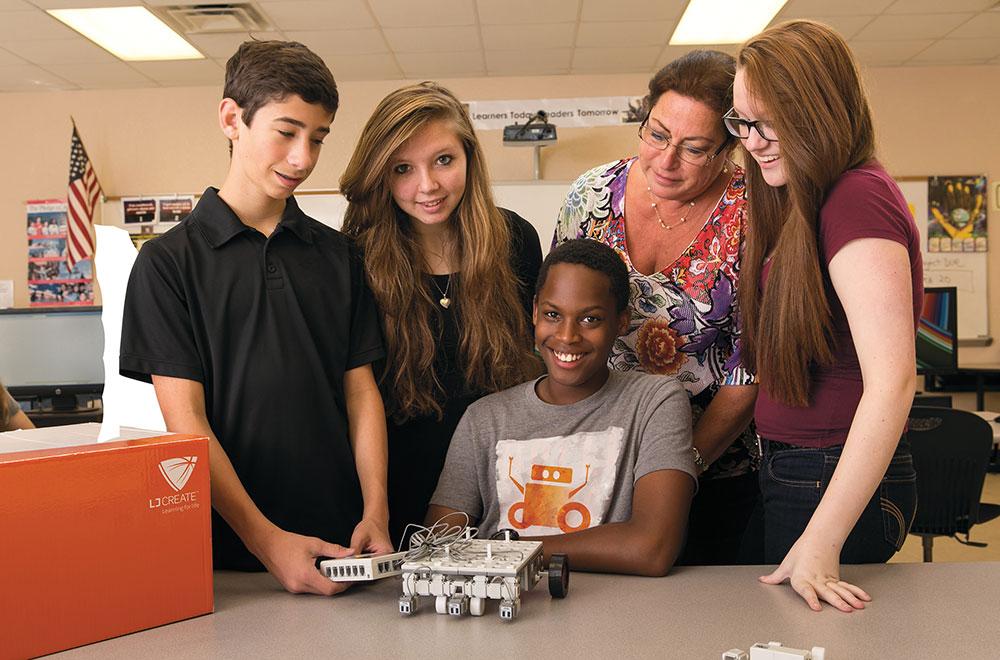 Allegheny Educational Systems LJ Create Exploring STEM program