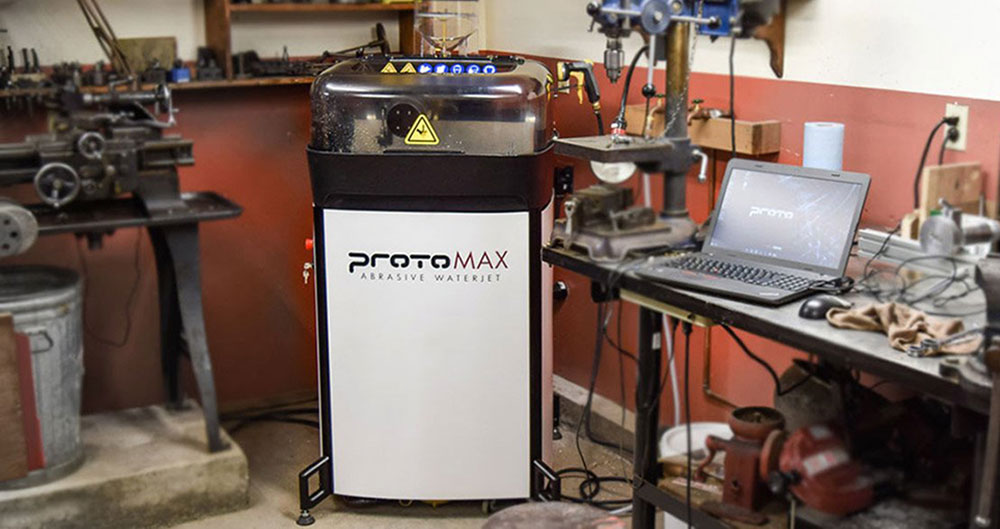 Allegheny Educational Systems ProtoMAX Waterjet 3