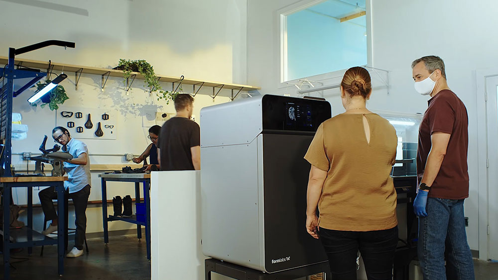 Alegheny Educational Systems Formlabs Fuse 1 3D Printer in the Workplace