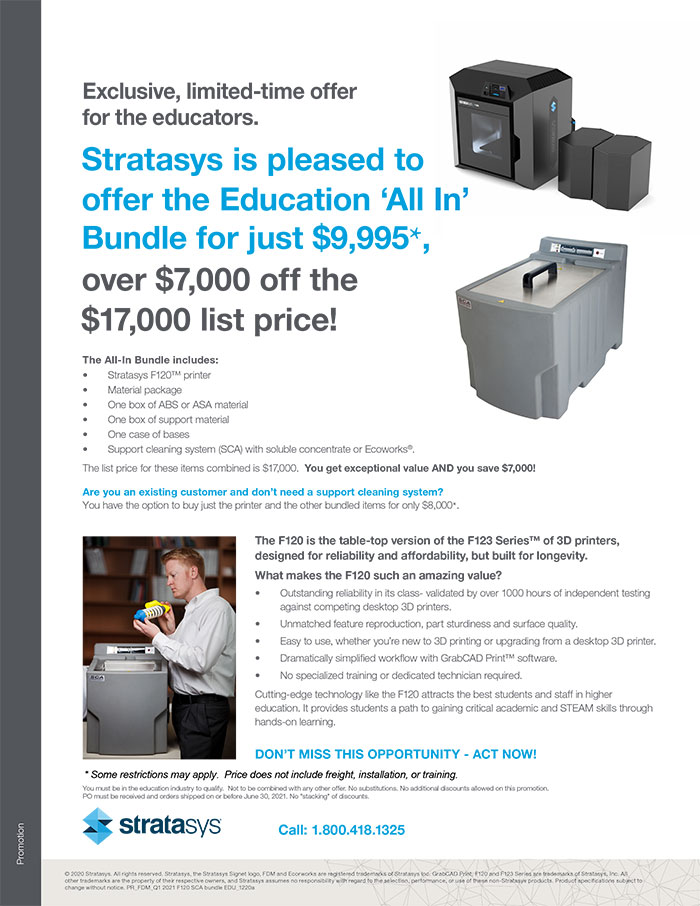 Allegheny Educational Systems Stratasys F120 Promo