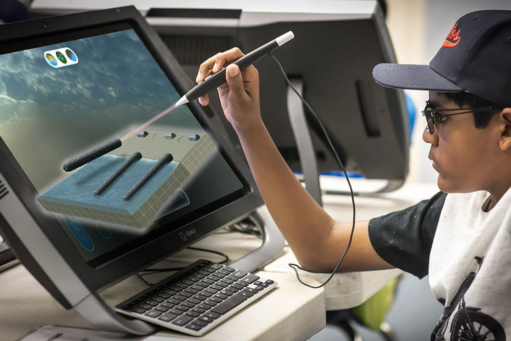 Allegheny Educational Systems zSpace AR/VR