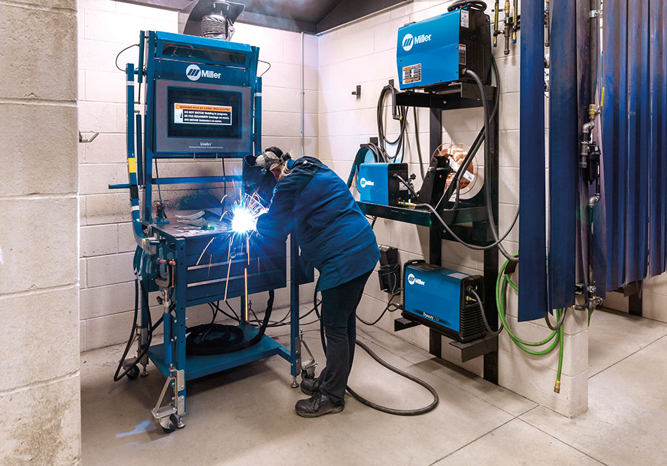 Alleheny Educational Systems Miller LiveArc Welding Performance Management System