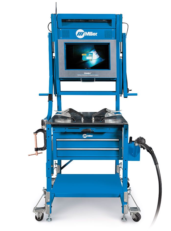 Allegheny Educational Systems Miller LiveArc Welding Performance Management System