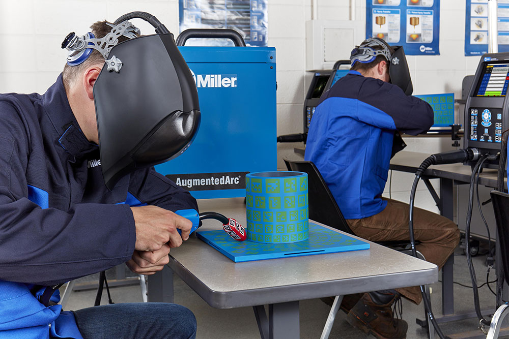 Allegheny Educational Systems Miller AugmentedArc Welding Training System