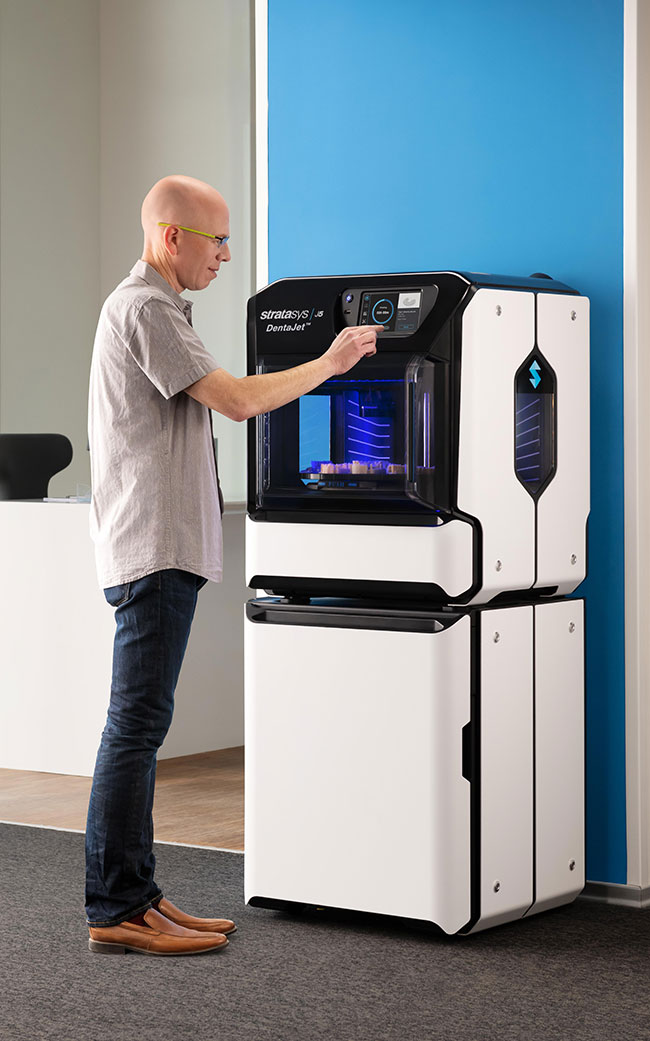 Stratasys J5 DentaJet 3D Printer
