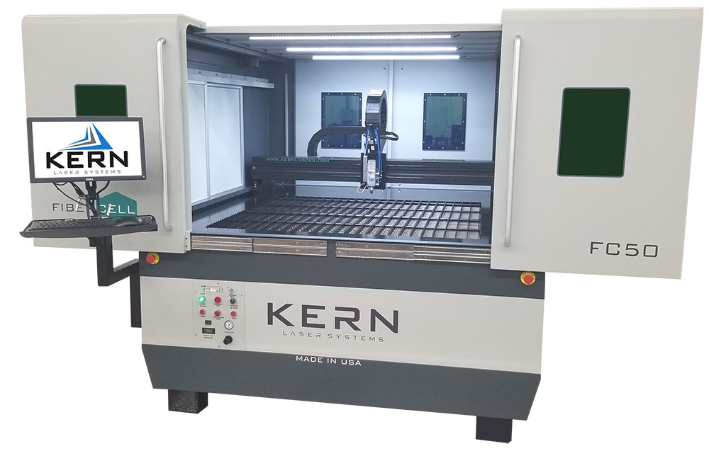 Allegheny Educational Systems Kern Laser Systems FiberCELL Laser Metal Cutter
