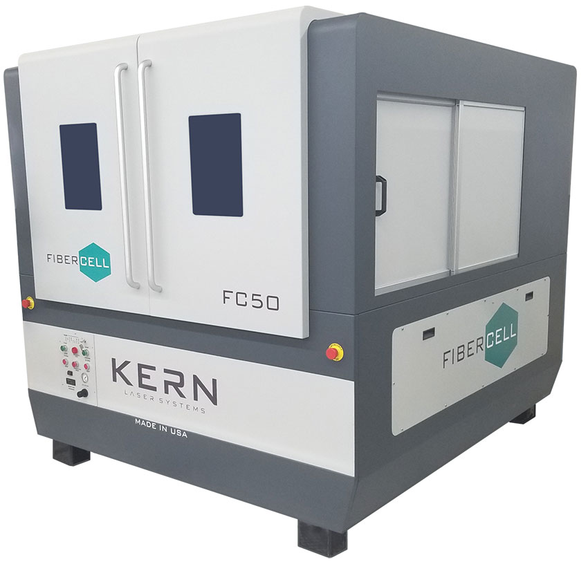 Kern FiberCELL Laser Metal Cutter