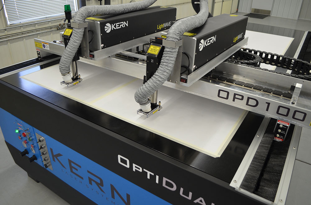 Allegheny Educational Systems Kern OptiDual Laser Cutter