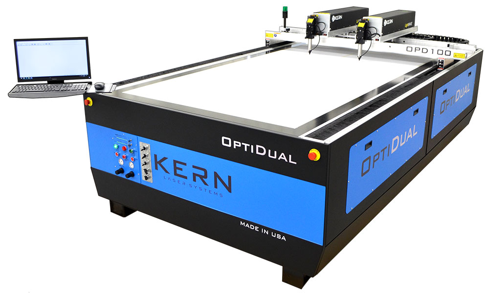 Kern OptiDual High Production Laser Cutter