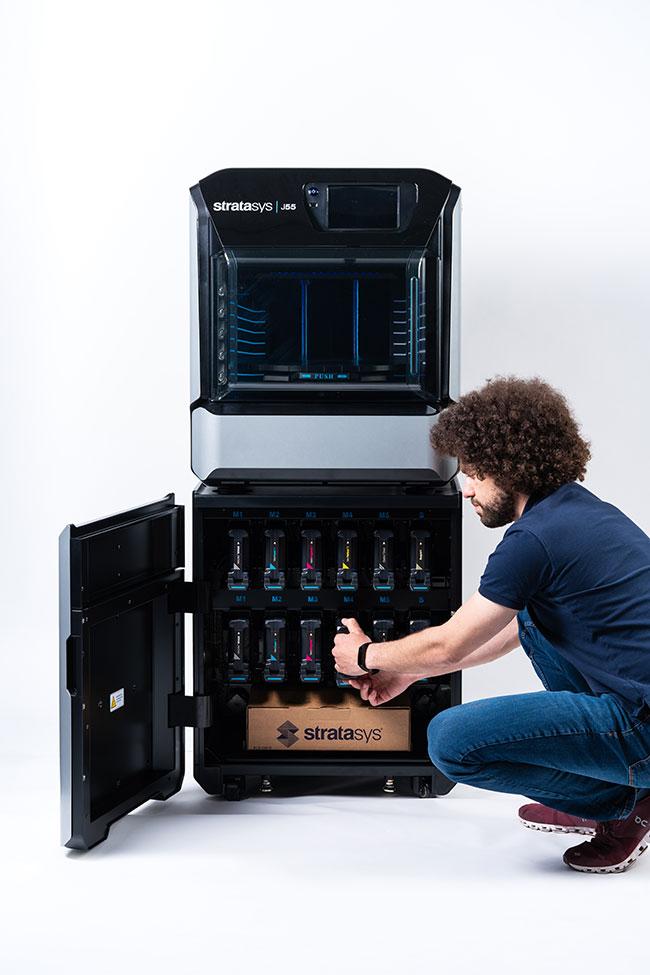 Allegheny Educational Systems Stratasys J55 Prime 3D Printer